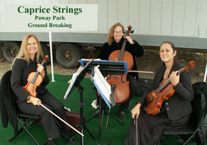 Caprices Strings in the Park