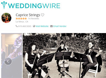 Testimonials on WeddingWire